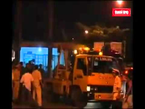 Tai nạn tàu hỏa tại cầu Ghềnh Biên Hòa