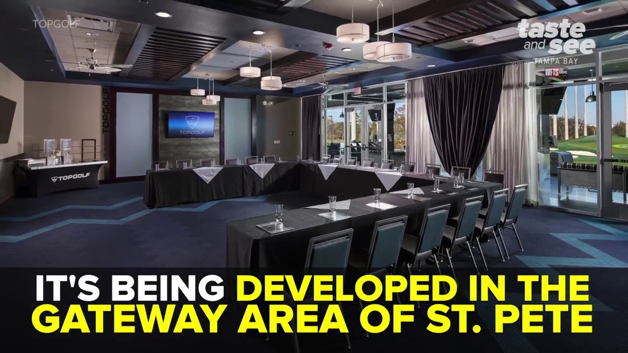 New Topgolf location coming to St  Petersburg | Taste and See Tampa Bay