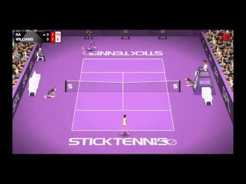 Li Na vs Serena Williams  Stick Tennis