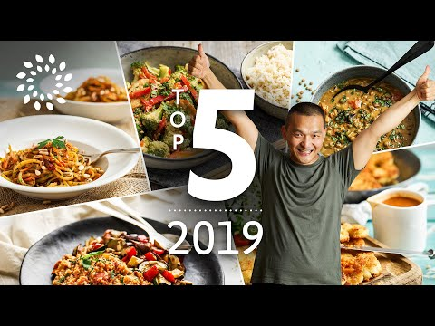 Vegane Food Favoriten 2019 – Top 5 Rezepte 2019 | Vegan Food Favorites 2019 – Top 5 Recipes 2019