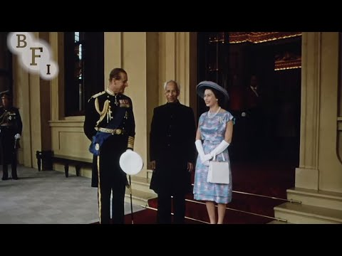 Britain Welcomes the President of India (1963) | BFI National Archive
