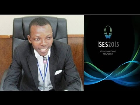 ISES 2015 Bursary Program - Serge Djohy - Benin
