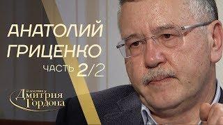 Анатолий Гриценко. Часть 2 из 2-х.