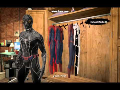 The Amazing spider man PC : movie classic and new black suit ...