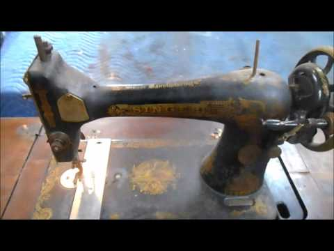 Restoration of a 1910  Singer Treadle Sewing Machine  - PART 1