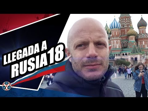 LLegada al mundial de  Rusia 2018 . Facundo
