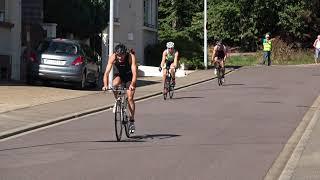 triathlon international de Creutzwald sprint S août 2018
