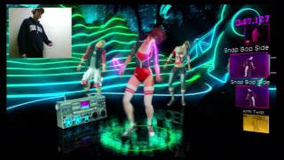 Dance Central 2-What is Love by Haddaway-Easy(Picture in Picture)