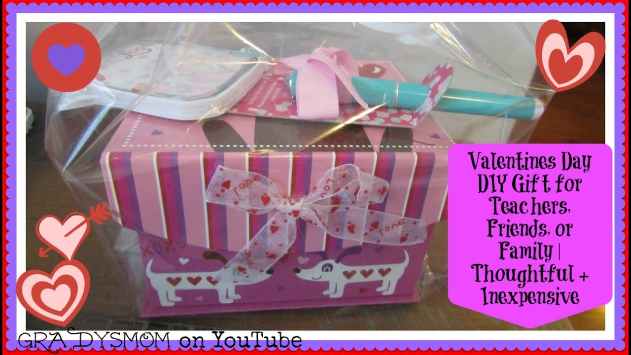 Diy Valentines Day Gift Perfect For Teachers Family Or Friends