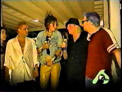 Warrant's last appearance on MTV Jani Lane