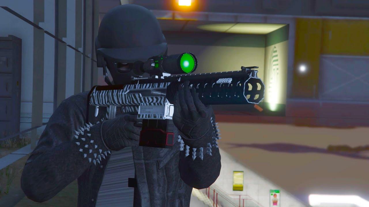 How To KILL Players Inside Hangar GTA 5 Online