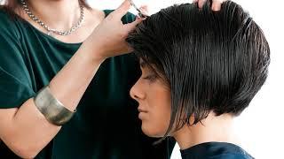 Как стричь каре на удлинение видеоурок для начинающих парикмахеров