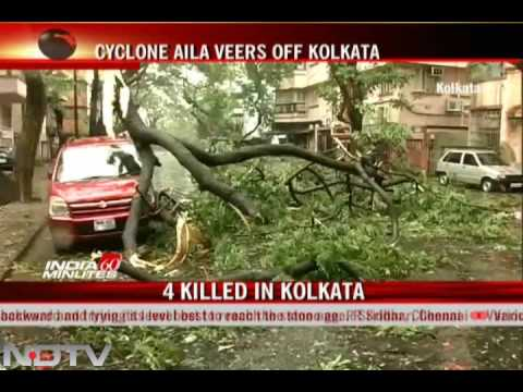 Cyclone Aila claims 19 lives in W Bengal