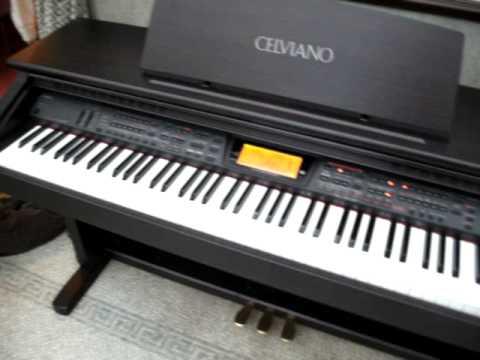 casio celviano al 100r electric digital piano demo for sale on ebay youtube. Black Bedroom Furniture Sets. Home Design Ideas