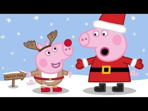 Peppa Pig Français 🎁 Un Noël Avec Peppa Pig 🎅🎄 Dessin Animé