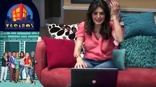 Capítulo 10: Hackeando el internet de Silvia |  Vecinos T4 - Distrito Comedia