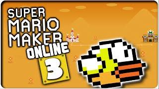 SUPER MARIO MAKER ONLINE Part 3: Flappy Mario - 100-Mario-Herausforderung (leicht)