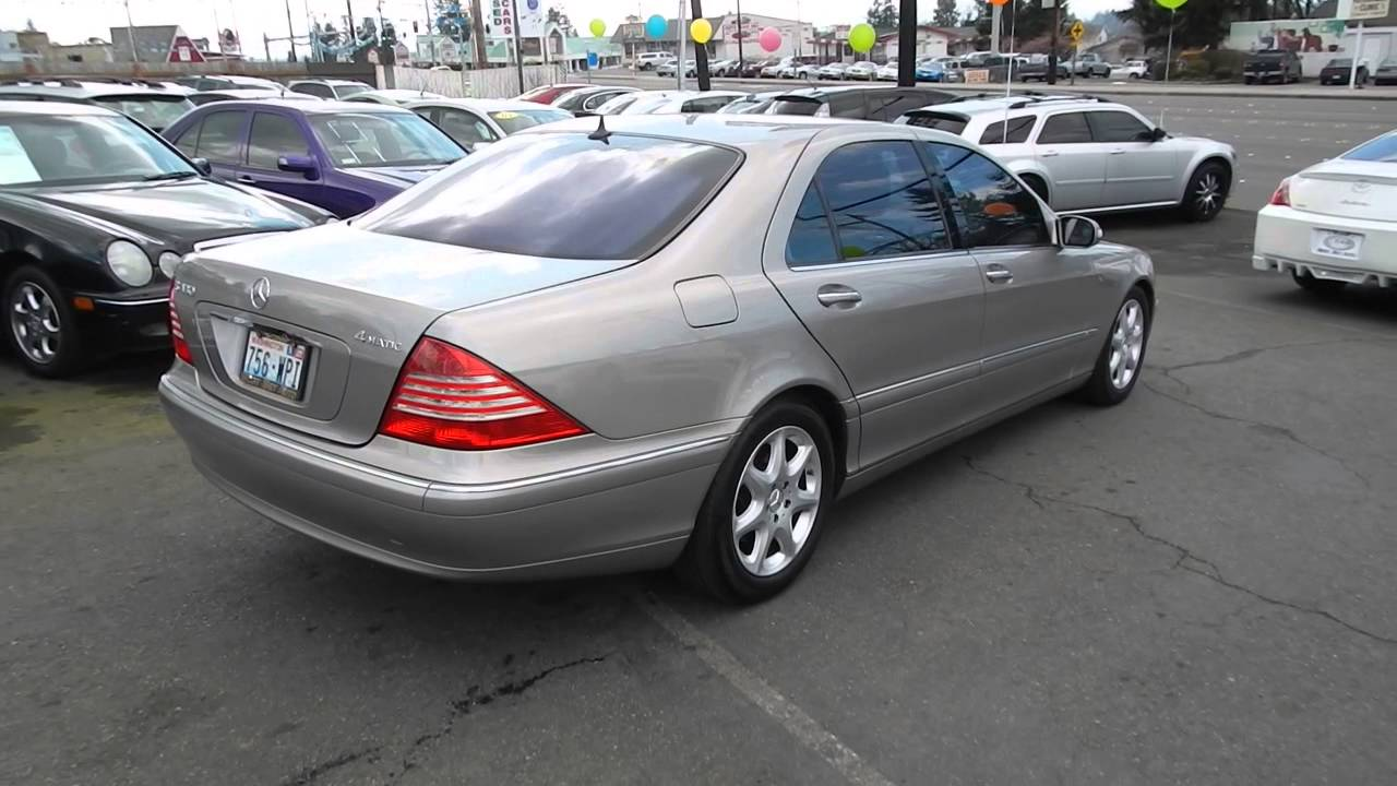 2004 mercedes benz s430 pewter stock l423269 walk for 2004 mercedes benz s430