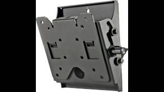 Peerless ST630P Tilt Wall Mount for 10 to 29 inches Displays (Black)