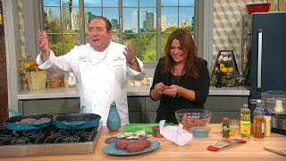 BAM! Emeril's Top Tips For The Perfect Juicy Burger