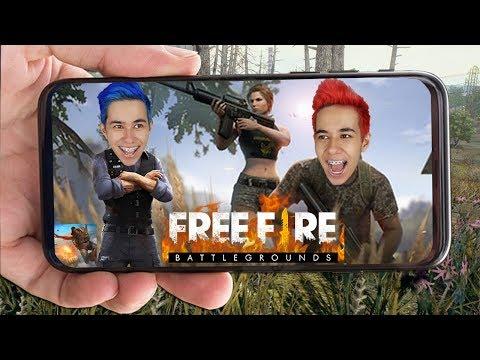 FREE FIRE! DETONAMOS NO NOVO JOGO BATTLE ROYALE DO MOMENTO!