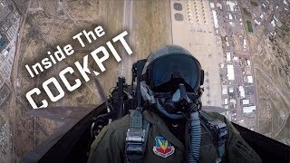 Inside the Cockpit of the F-22 Raptor