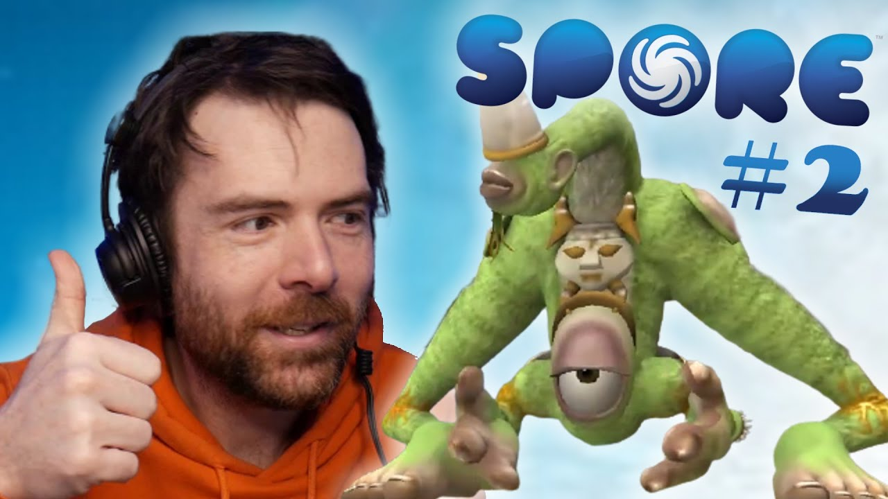 JDG - SPORE - Let's Play #2 (Best-of Twitch)