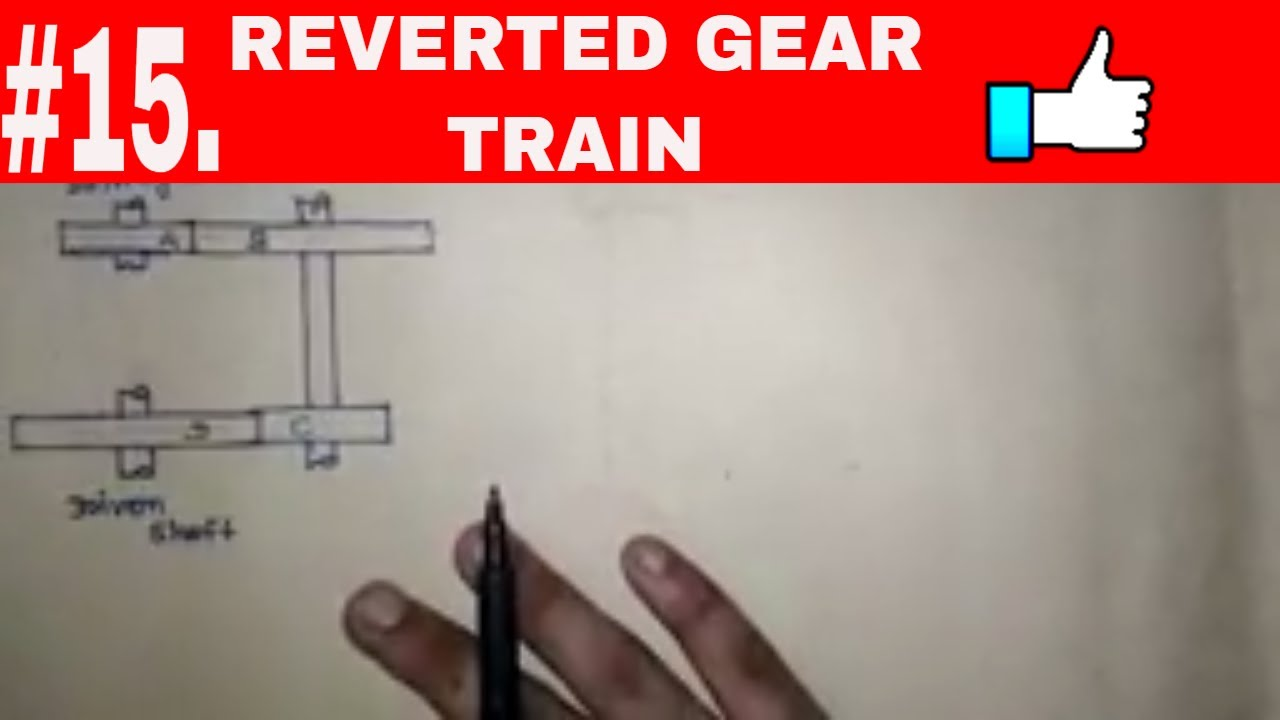 [in hindi]reverted gear train