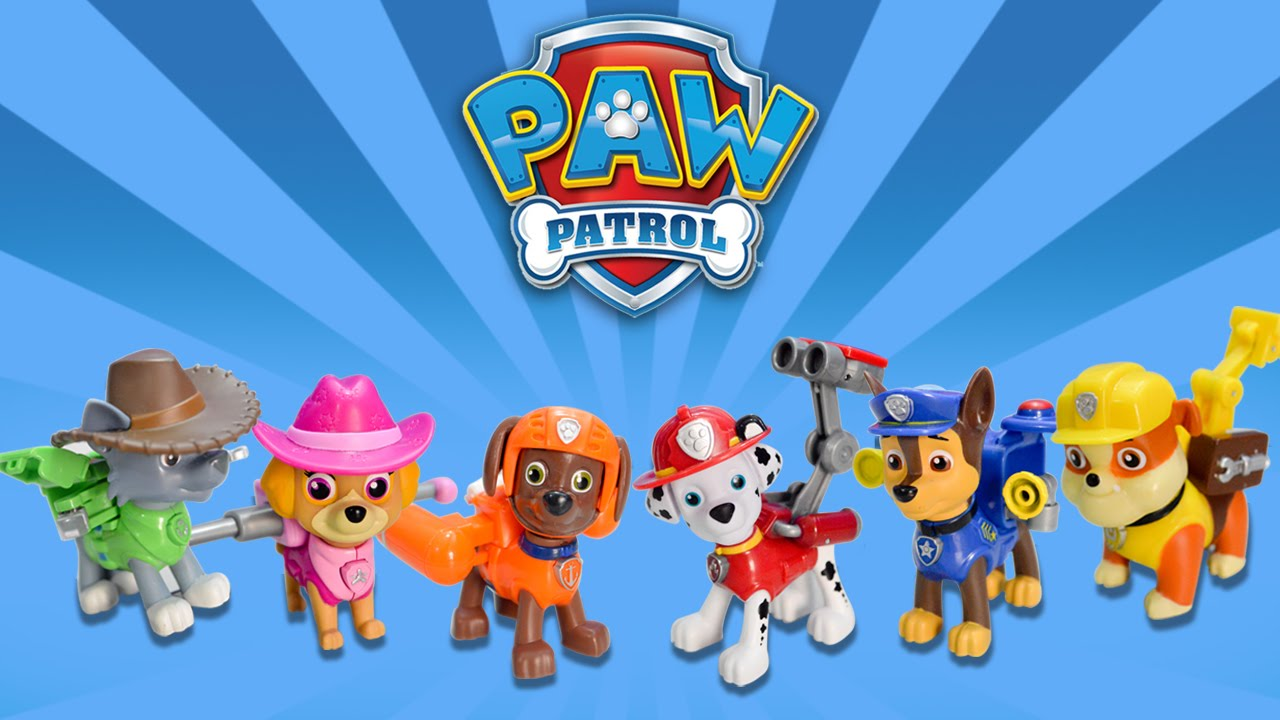 Nickelodeon Paw Patrol Action Pack Pup and Badge Marshall