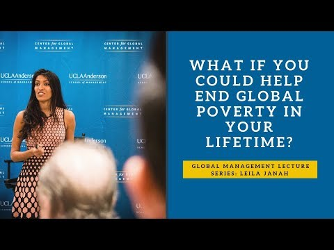 2017 Global Management Lecture Series: Leila Janah