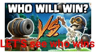 BOMBER VS CANNON CART.Who will win let