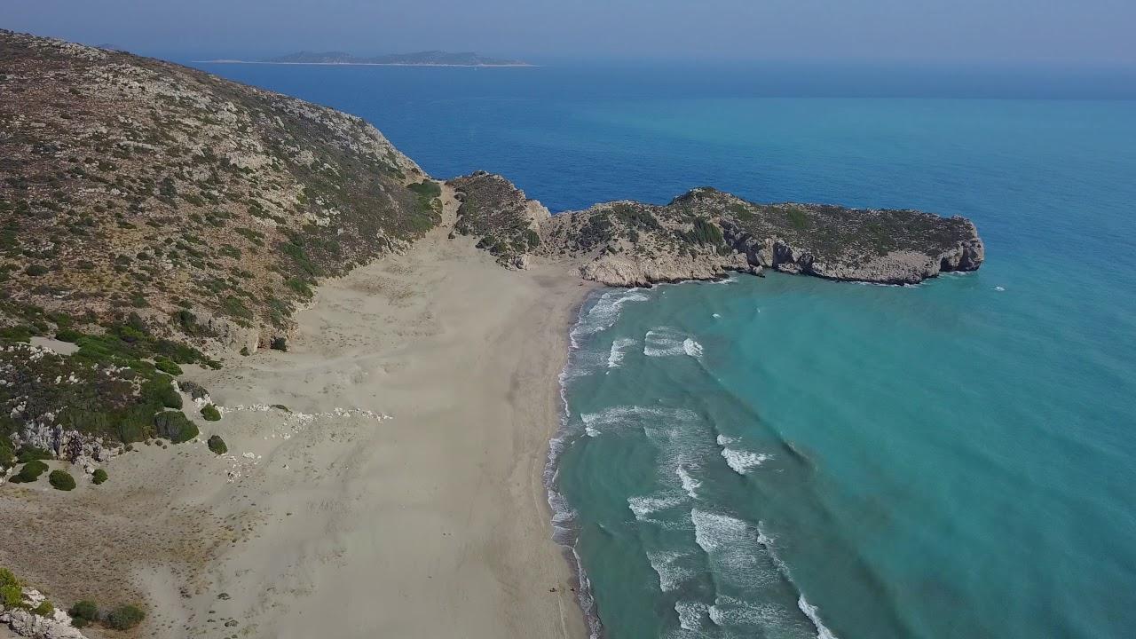 Kaş Patara Plajı Drone Çekimi - YouTube
