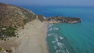 Kaş Patara Plajı Drone Çekimi