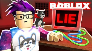 Trying a Roblox Lie Detector!