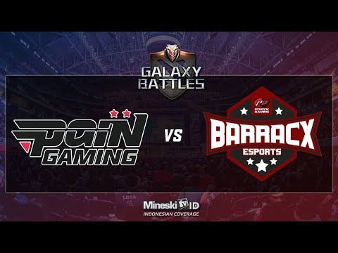 🔴LIVE: paIN GAMING [BR] VS PG.Barracx [ID] - Galaxy Battles Main Event BO1 Lower Bracket