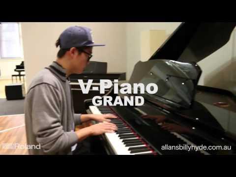 Roland Digital Piano Walkthrough (Pitt St, Sydney Store)