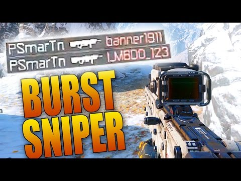 Black Ops 3: P-06 BURST SNIPER COLLATERAL! (BO3 Sniping Multiplayer Gameplay)