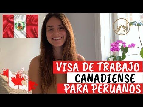 PERUANOS! Visa De Trabajo Facilitada Para Canadá.