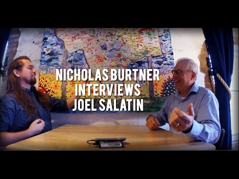 World Changer Interview Series - Nicholas Burtner Interviews Joel Salatin