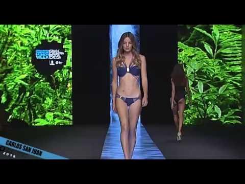 Desfile CARLOS SAN JUAN - Gran Canaria Swimwear Fashion Week 2016 - Moda Cálida
