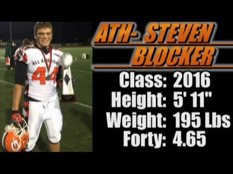 2016-'Street Light Recruiting' ATH- STEVEN BLOCKER 'Glenwood School' (Phenix City, AL)