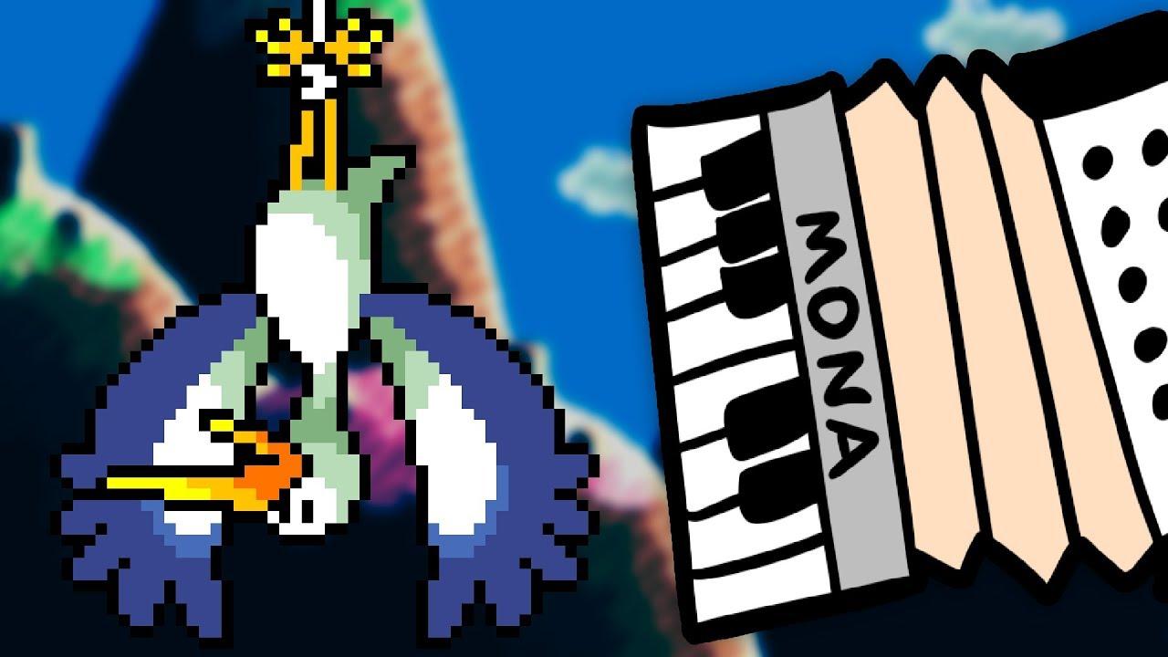 Story Music Box 「Yoshi's Island」 accordion cover - YouTube