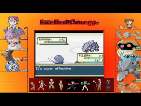Pokemon Fire Red Omega Gym Leader Brock  YouTube