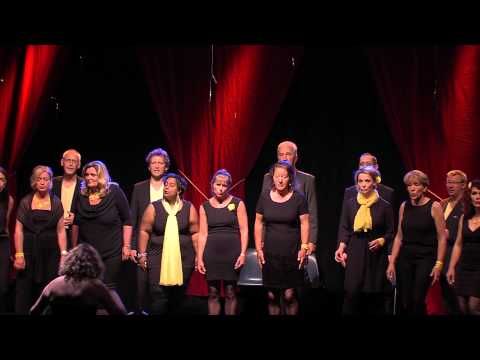 Here comes the rain again sung by Voice Over with soloist Nelinda Vermunt