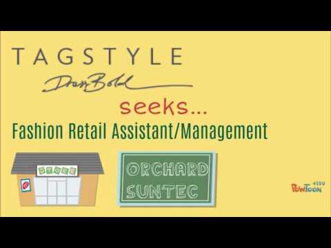 tagStyle Singapore seeks Part Time Staff