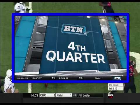 Football Highlights Ohio State at Penn State