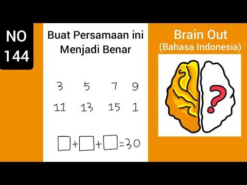 Brain Out Level 144 Buat Persamaan Ini Menjadi Benar