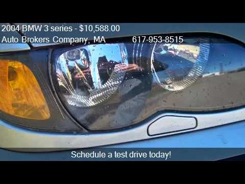 2004 Bmw 3 Series 325xi Sedan For In Somerville Ma 0