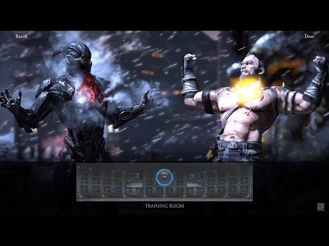 Razor (Triborg/Smoke) vs Deus (Kano - Cybernetic/Commando) ft 10