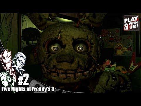 #2【ホラー】弟者,兄者,おついちの「Five Night at Freddy's 3」【2BRO.】